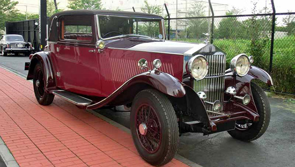 1933 Rolls Royce 20/25HP Coupe (Freestone & Webb)