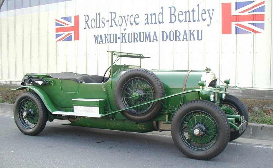 1927年 Bentley 4.1/2Liter Open-Tourer by Vanden Plus #ST3001
