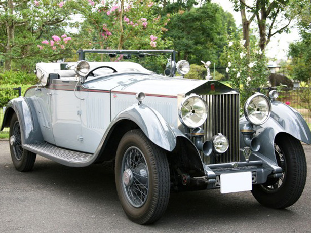 1930 Rolls-Royce Phantom II Continental DHC by Carlton